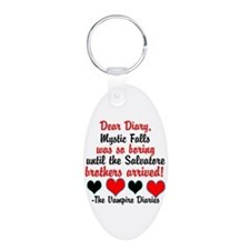 Dear Diary 2, black/red Keychains