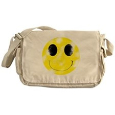 Vintage Smiley Face 1 Messenger Bag
