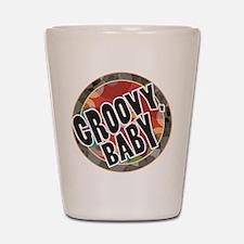 Groovy Baby Shot Glass