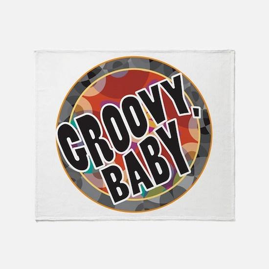 Groovy Baby Throw Blanket