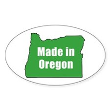 Cute Oregon Decal