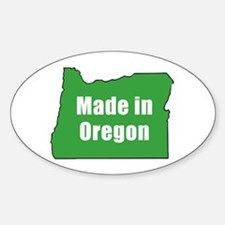 Cute Oregonian Sticker (Oval)
