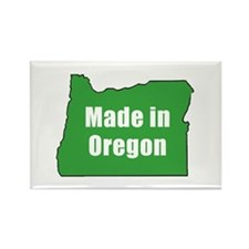 Cute Made oregon Rectangle Magnet