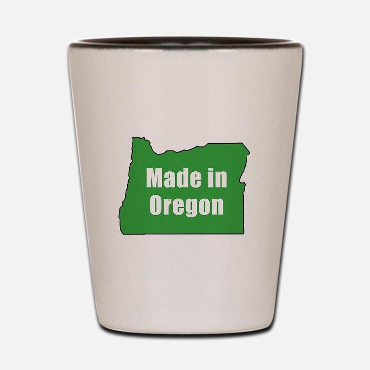 Cute Oregonian Shot Glass