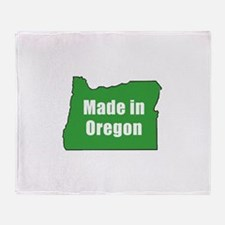 Cool Oregon Throw Blanket