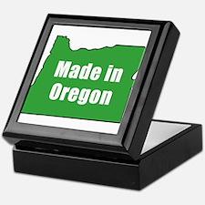 Cool Oregon Keepsake Box