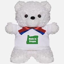 Funny Oregon Teddy Bear