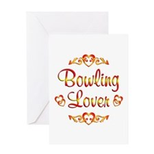 Bowling Lover Greeting Card