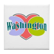 Washington D.C Tile Coaster