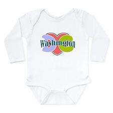 Washington D.C Long Sleeve Infant Bodysuit