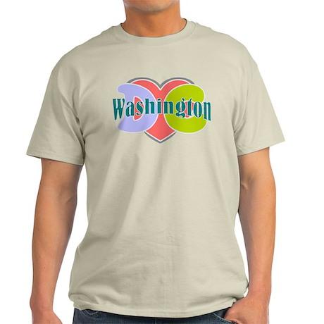 Washington D.C Light T-Shirt
