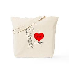 I love Giraffes! Tote Bag