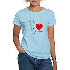 I love Giraffes! T-Shirt