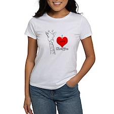 I love Giraffes! Tee