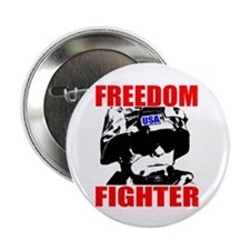 """Freedom Fighter 2.25"""" Button (10 pack)"""