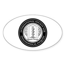 Large Ispe Seal Oval Decal