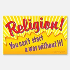 Religion. You Can't Start a W Decal
