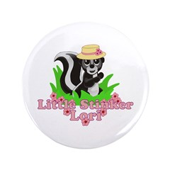 "Little Stinker Lori 3.5"" Button"