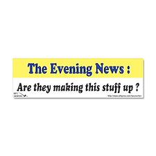 The Evening News... Car Magnet 10 x 3
