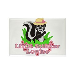 Little Stinker Louise Rectangle Magnet (10 pack)