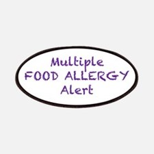 Multiple Food Allergy Alert Patches