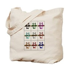 Frogadellic Tote Bag