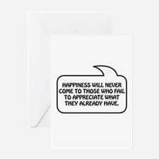 Happiness Bubble 1 Greeting Card
