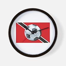 Trinidad & Tobago Soccer Wall Clock