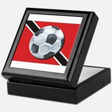 Trinidad & Tobago Soccer Keepsake Box