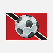 Trinidad & Tobago Soccer Rectangle Magnet