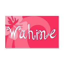 Wahine Car Magnet 20 x 12