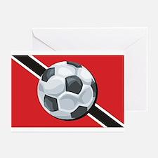 Trinidad & Tobago Soccer Greeting Cards (Package o
