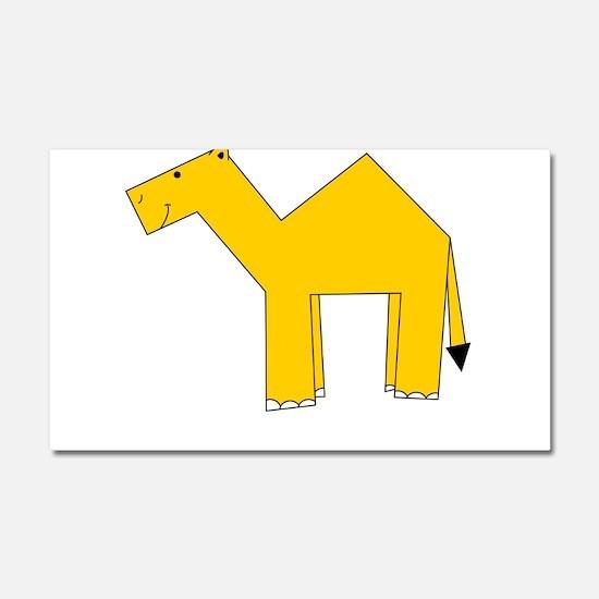 C is for Camel Car Magnet 20 x 12