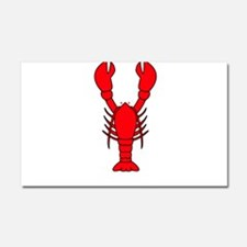 L is for Lobster Car Magnet 20 x 12