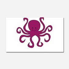 O is for Octopus Car Magnet 20 x 12