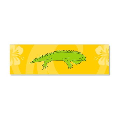 Iguana Car Magnet 10 x 3