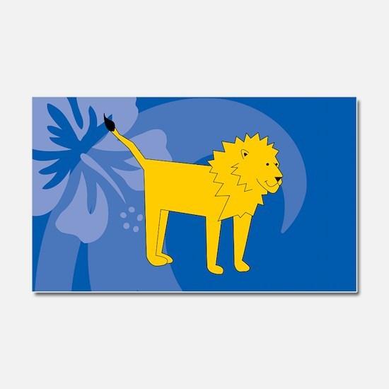 Lion Car Magnet 20 x 12