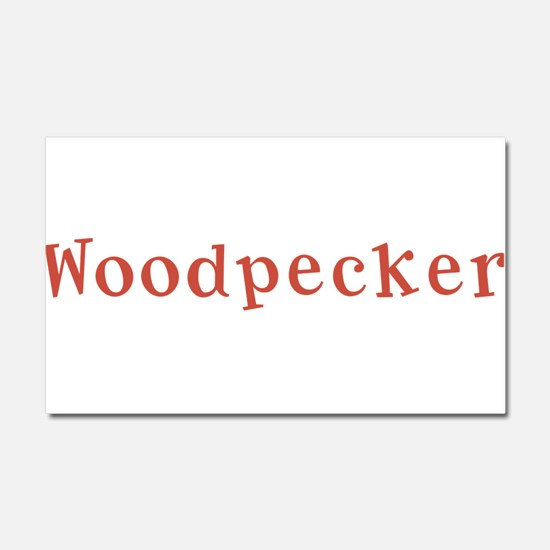 Woodpecker Car Magnet 20 x 12