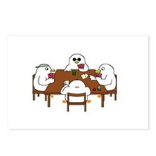 Poker Game Postcards (Package of 8)