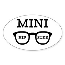'Mini Hipster' Decal