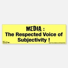 Media: The Respected Voice of Bumper Bumper Sticker