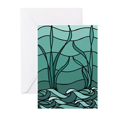 Nouveau Marsh Greeting Cards (Pk of 10)
