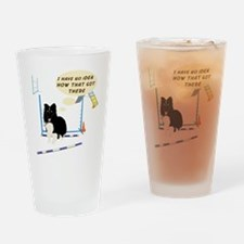 Bar Down Drinking Glass