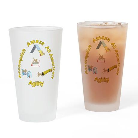 AAA Agility Drinking Glass