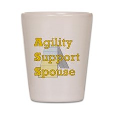Agility Support Spouse Shot Glass