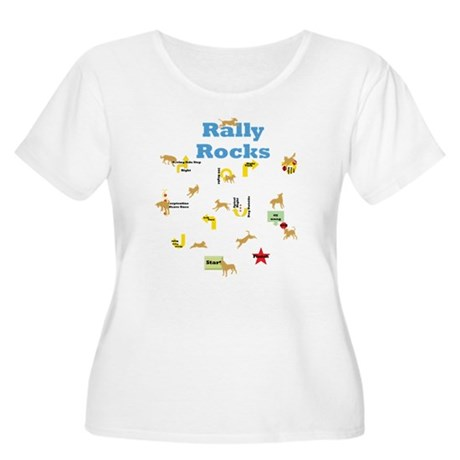 Rally 4 Women's Plus Size Scoop Neck T-Shirt