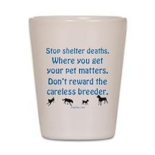 Get Your Pet Shot Glass