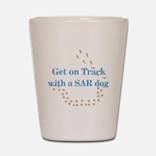 On Track with SAR Shot Glass