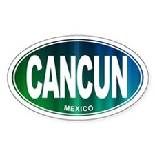 Cancun Mexico - Decal