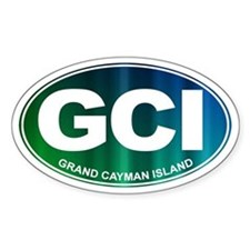 GCI - Grand Cayman Island - Decal